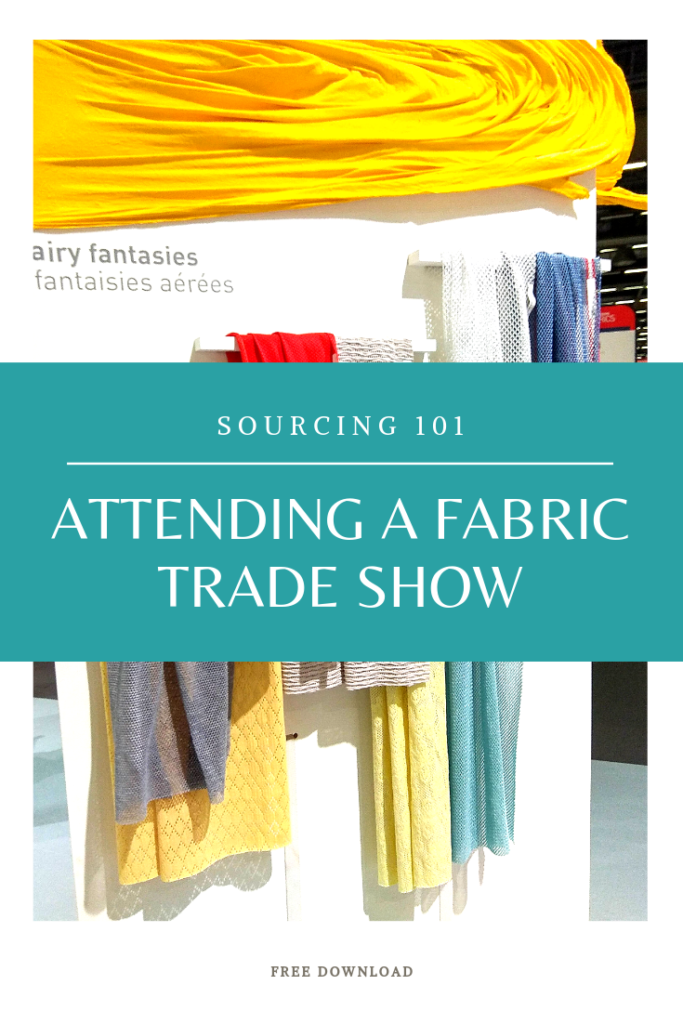 attending fabric trade shows tradeshows